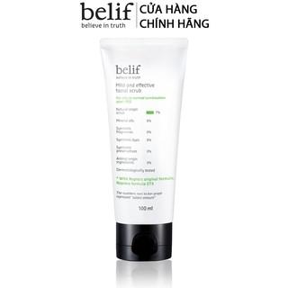 Tẩy tế bào chết thảo dược Belif Mild And Effective Facial Scrub 100ml thumbnail