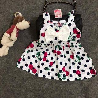 Combo 5 váy thô hoa cho bé
