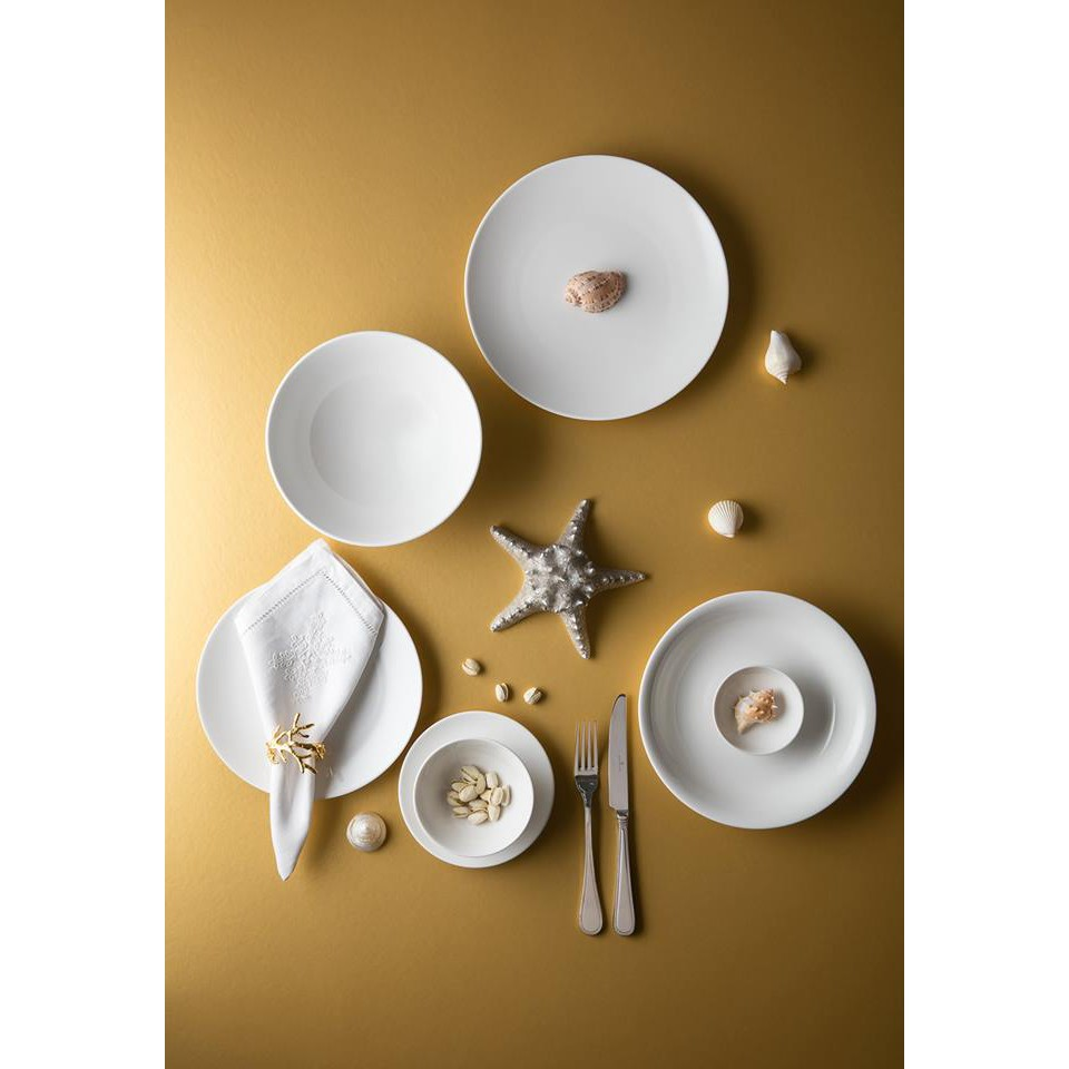 Bộ bàn ăn 22 Sản Phẩm Daisy trắng - Minh Long 1