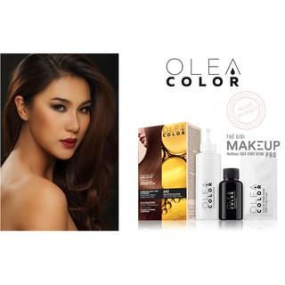 [ÁNH VÀNG ĐỒNG ĐẬM] Kem nhuộm dưỡng tóc không Amoniac Olea Color ITALY Màu số 643 thumbnail