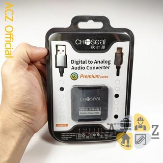 [Mã ELFLASH5 giảm 20K đơn 50K] Bộ chuyển quang Choseal chuyển đổi âm thanh SmartTV có dây quang