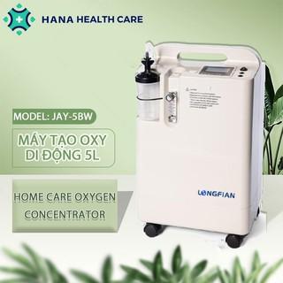 Máy Tạo Oxy tinh khiết y tế loại 5 Lít Model JAY-5BW LONGFIAN, hỗ trợ thở oxy tại nhà dễ dàng sử dụng thumbnail