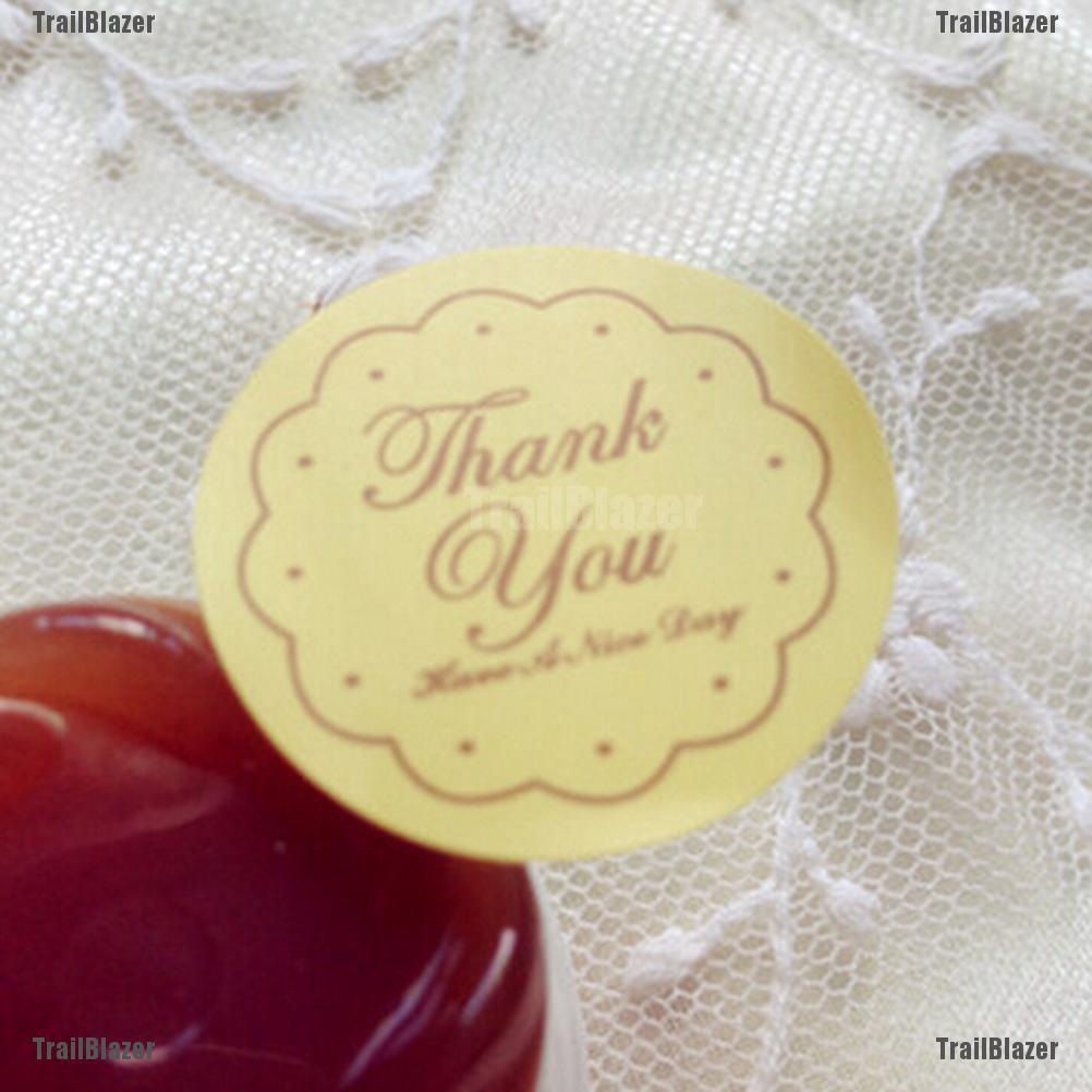 Bộ 48 Miếng Dán Trang Trí Hình Chữ Thank You