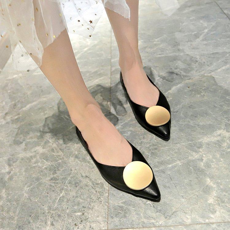 Giày Búp Bê Mũi Nhọn Xinh Xắn Cho Nữ
