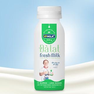 [INBOX TRƯỚC KHI MUA HÀNG] Sữa Tươi Thanh Trùng VPMilk Đà Lạt Fresh Milk chai 200ml