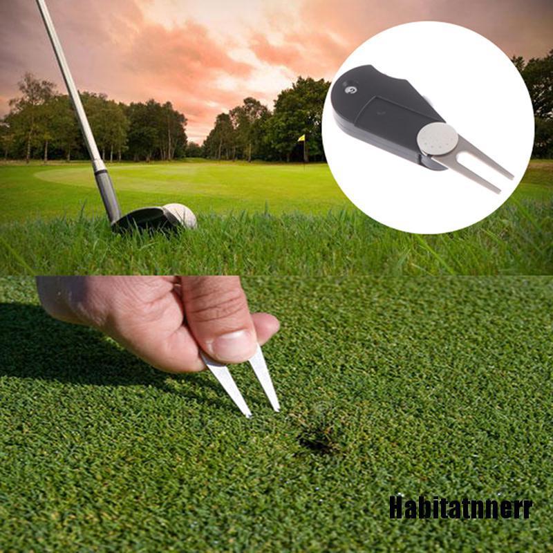 1 Dụng Cụ Đánh Dấu Bóng Golf Có Thể Gấp Gọn Tiện Dụng