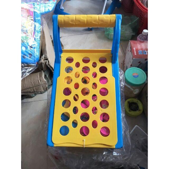 Xe đẩy đồ chơi siêu thị cho bé