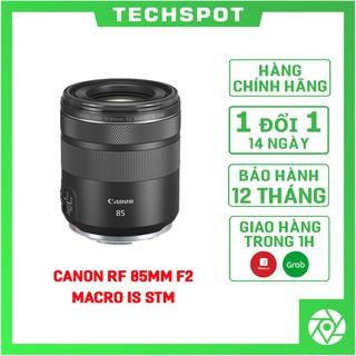 Ống Kính Canon RF 85mm f/2 Macro IS STM, Mới 100%