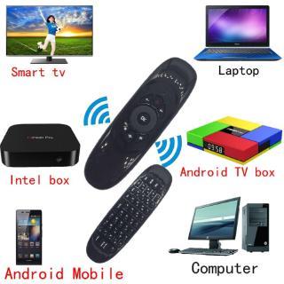 Bàn Phím Không Dây 2.4g C120 Cho Android Tv Box Computer