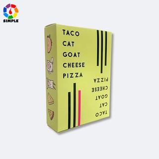 Cheese Pizza board game Bộ bài học từ vựng tiếng Anh có hình vẽ vui nhộn dùng cho đối tượng trên 8 tuổi thumbnail