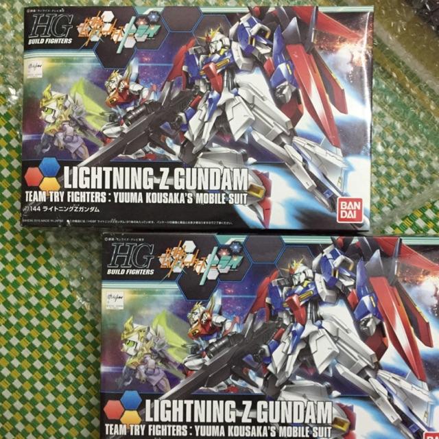 Bộ mô hình lắp ghép HG Lightning Zeta Gundam Bandai
