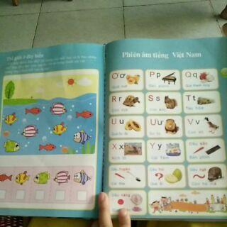 Sách dạy song ngữ anh việt cho bé