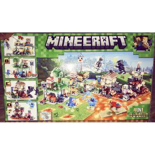 Combo 4 hộp Lego Minecraff 504 trọn bộ