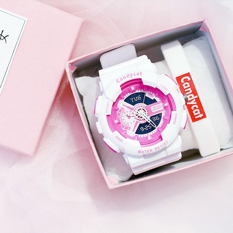 Đồng hồ nam nữ thời trang Candycat thông minh cực đẹp DH16