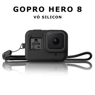 [ GOPRO HERO 8 ] Vỏ silicon cho gopro hero 8 Black