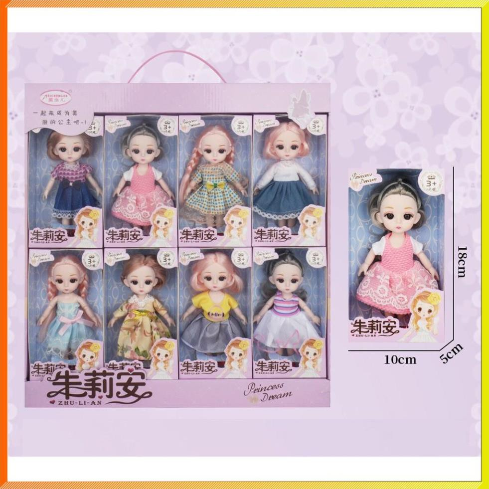 Bộ sưu tập 8 búp bê babie đồ chơi vô cùng dễ thương cho các bé gái - Búp bê