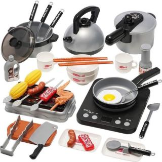Bộ đồ chơi Nấu ăn Nhà bếp 36 chi tiết