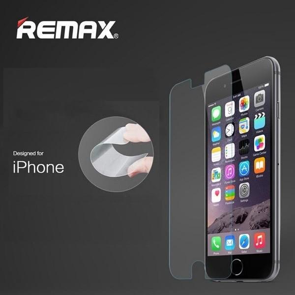 Kính cường lực cho iphone Remax 2.5D 0.3mm - chống xước cao cấp