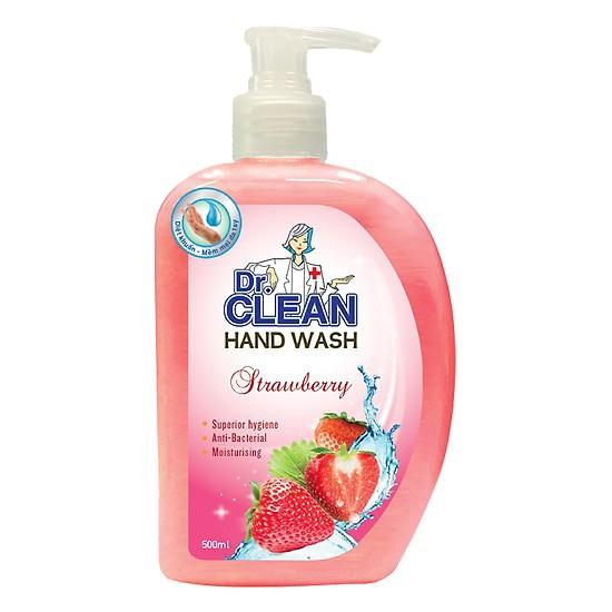 Nước rửa tay DR.CLEAN 500ml tặng chai 200ml đủ mùi