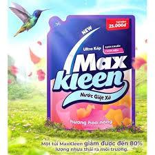 Túi Nước Giặt Xả MaxKleen Hương Nước Hoa Huyền Diệu 2,4kg