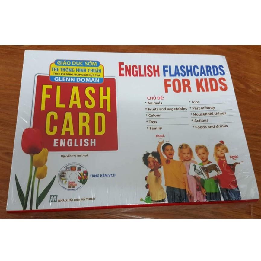 [FREESHIP] Flashcard - English for kid - Thế giới xung quanh Thẻ Glenn Doman Thẻ học thông minh