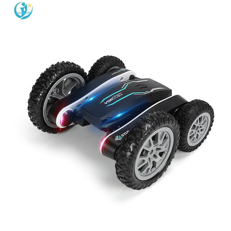 Best Life Four-wheel Drive Double-sided Stunt Car Flowering Deformation 2.4G Remote Control Drift Climbing 360-degree Rotation