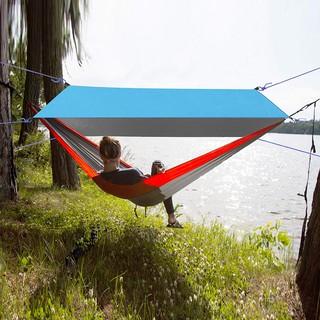 Tăng lều cắm trại du lịch tiện ích, tăng bạt tráng bạc che nắng mưa cho dã ngoại chống tia UV tiện lợi đi chơi