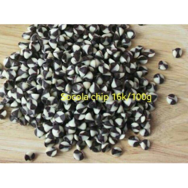 Lẻ Socola chip đen trắng 100g - 2748539 , 108234917 , 322_108234917 , 18000 , Le-Socola-chip-den-trang-100g-322_108234917 , shopee.vn , Lẻ Socola chip đen trắng 100g