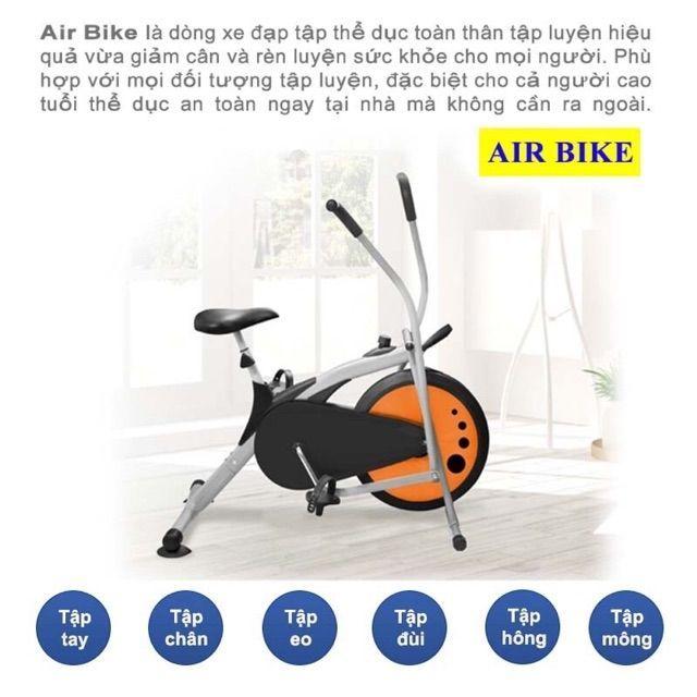 Xe đạp tập thể dục Air Bike Sony OB8409 - 2410246 , 644695364 , 322_644695364 , 1299000 , Xe-dap-tap-the-duc-Air-Bike-Sony-OB8409-322_644695364 , shopee.vn , Xe đạp tập thể dục Air Bike Sony OB8409