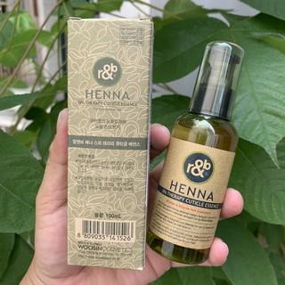 Tinh dầu dưỡng tóc thảo dược R&B Henna 100ml thumbnail