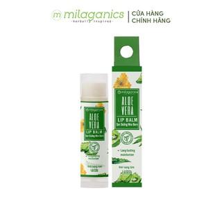 Son Dưỡng Môi thành phần thiên nhiên Dừa MILAGANICS 4.5g giúp cấp ẩm ngày đêm cho môi hồng, ngừa nứt nẻ thumbnail