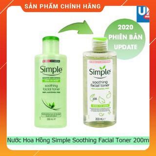 [Mẫu mới 2020] Nước Hoa Hồng Simple Soothing Facial Toner thumbnail