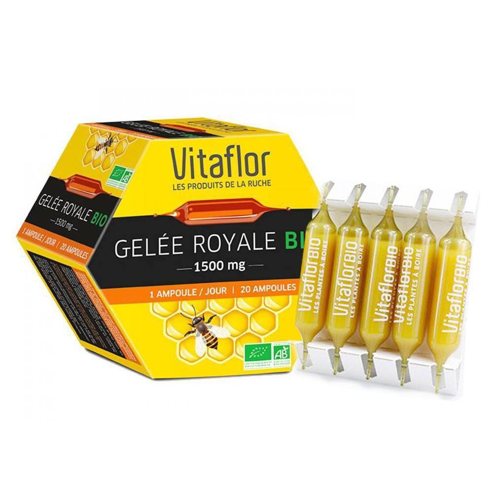 Sữa ong chúa Vitaflor Bio 1500mg 20 ống của Pháp - 3120494 , 1042377858 , 322_1042377858 , 600000 , Sua-ong-chua-Vitaflor-Bio-1500mg-20-ong-cua-Phap-322_1042377858 , shopee.vn , Sữa ong chúa Vitaflor Bio 1500mg 20 ống của Pháp