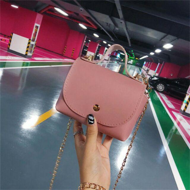 [GIẢM GIÁ]Túi đeo chéo nữ Gu Hàn Quốc-mua ngay -->