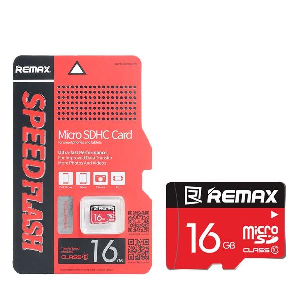 Thẻ nhớ Remax 16Gb-Hàng chính hãng- Bảo hành 12 tháng