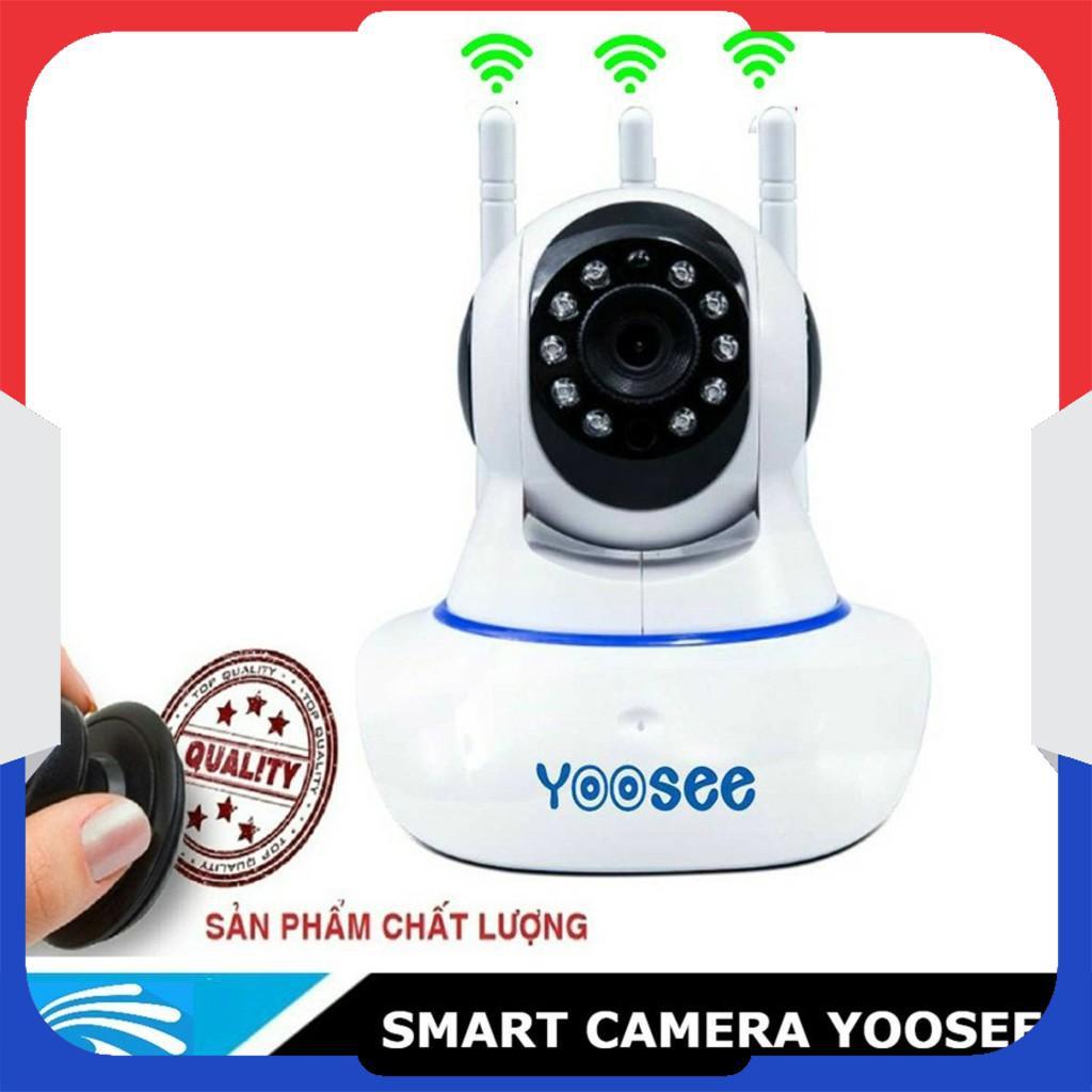 Camera Wifi IP APP YOOSEE Tiếng Việt 3 Anten Full HD 1080P - [Nhập mã ELCA07 giảm đến