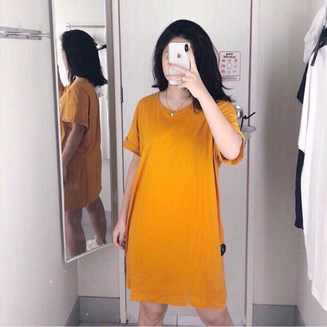 Váy suông trơn auth tuồn