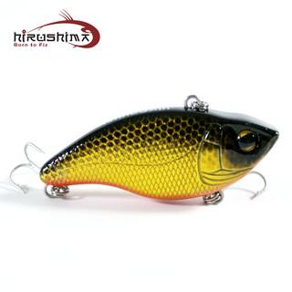 Mồi câu chìm Hirushima Angle Vib câu cá lóc, chẽm, tráp siêu nhạy 9.3gr thumbnail
