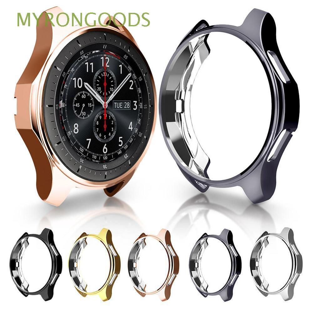 Ốp mặt đồng hồ TPU mỏng chống trầy cho Samsung Galaxy Watch 46mm