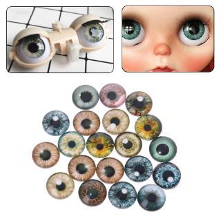 20Pcs Glass Doll Eyes Animal DIY Crafts Eyeballs For Dinosaur Eye Accessories Jewelry Handmade