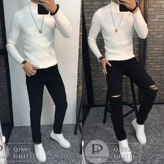 [Mẫu quần đẹp nhất SHOPEE] Quần jean nam phong cách Style For Men QJ801-802