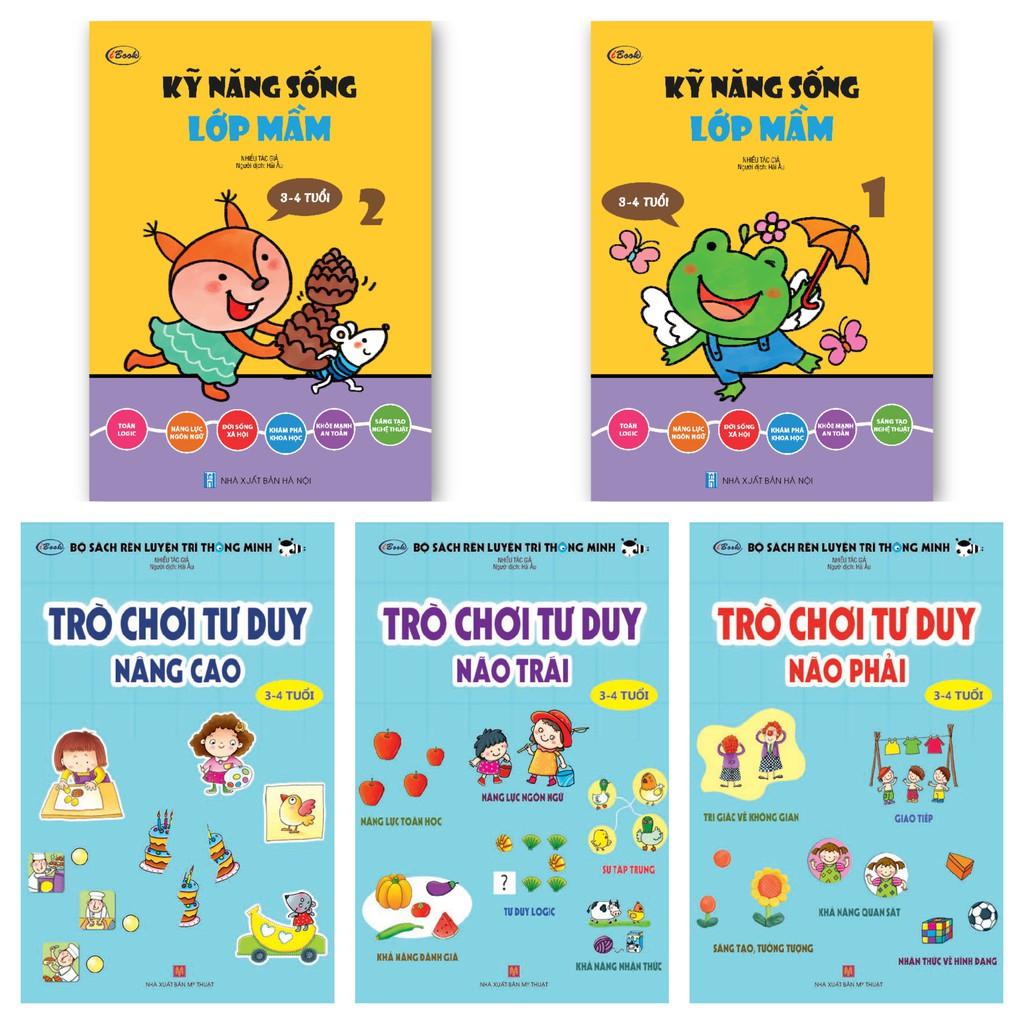 Sách thiếu nhi - Combo 5 cuốn TRÒ CHƠI TƯ...