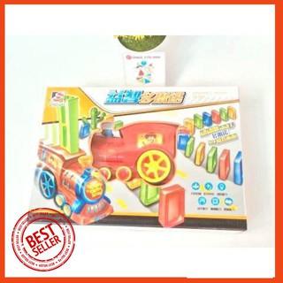 [RẺ NHẤT] Bộ đồ chơi Domino hình tàu hỏa bằng gỗ cho bé