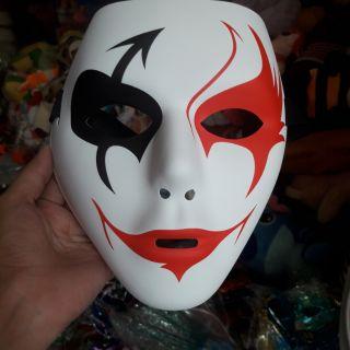 Mặt nạ jocker vẽ. Hóa trang Halloween