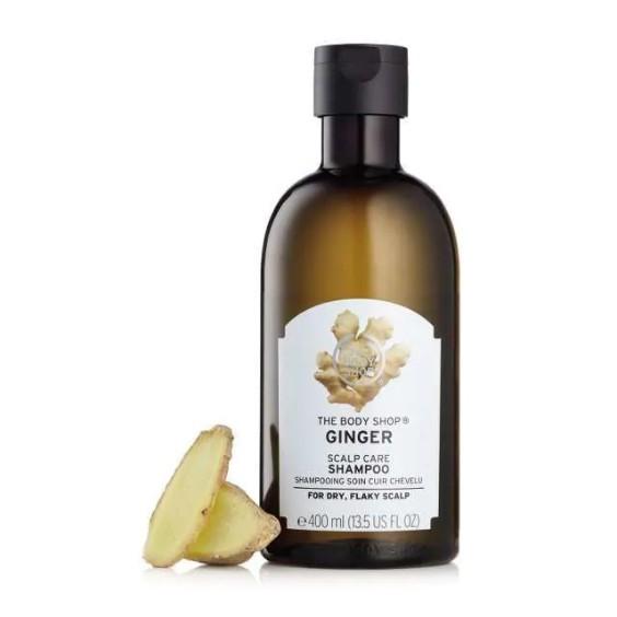 Dầu gội gừng Jumbo The Body Shop ginger scalp care shampoo 400ml