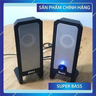 Bộ Loa máy tính 2.0 DELL A225, âm thanh sống động, chất lượng đi đôi với thương hiệu DELL, bảo hành chính hãng