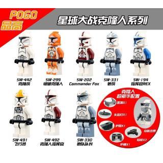 Bộ Đồ Chơi Lego Xếp Hình Nhân Vật Star Wars Pg 8002 thumbnail