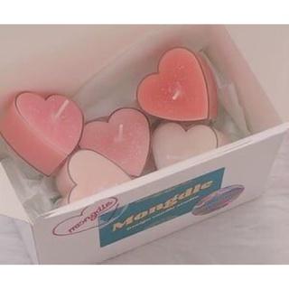 Nến thơm cao cấp hình trái tim decor Chofee