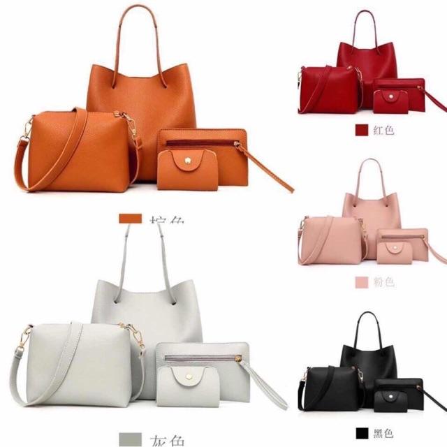 Túi gồm Set 4 món siêu xinh