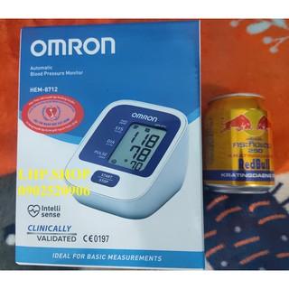 COMBO Máy đo huyết áp bắp tay Omron HEM - 8712 tặng nước tăng lực REDBULL
